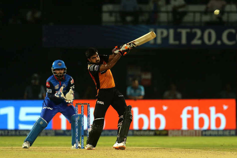Ipl 2019 Eliminator Dc Vs Srh Sunrisers Hyderabad Post 162 8 Against Delhi Capitals