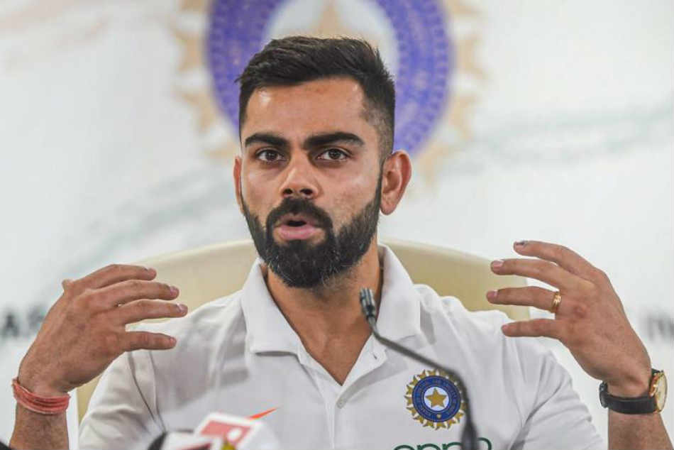 Virat Kohli To Sport Limited Edition Gold White Shoes At World Cup