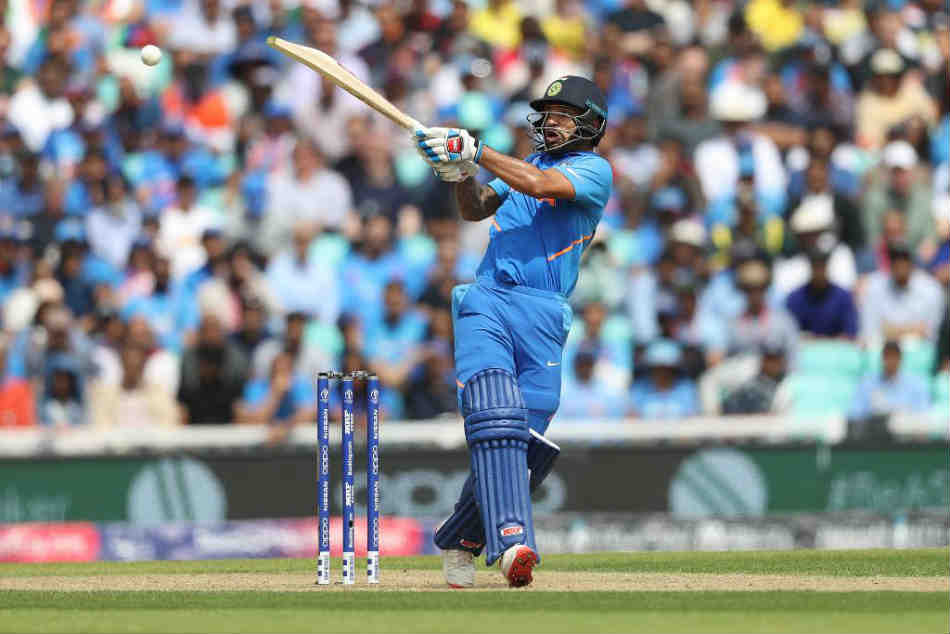 English Title: India vs Australia: Shikhar Dhawan hits 3rd World Cup hundred as India bully Australia