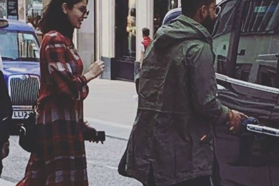 India cricket team captain Virat Kohli spotted in London with wife Anushka Sharma