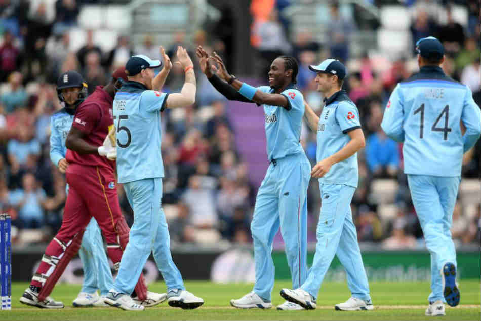 CWC 2019: England vs West Indies Live Score: Archer, Wood star as Windies crumble for 212