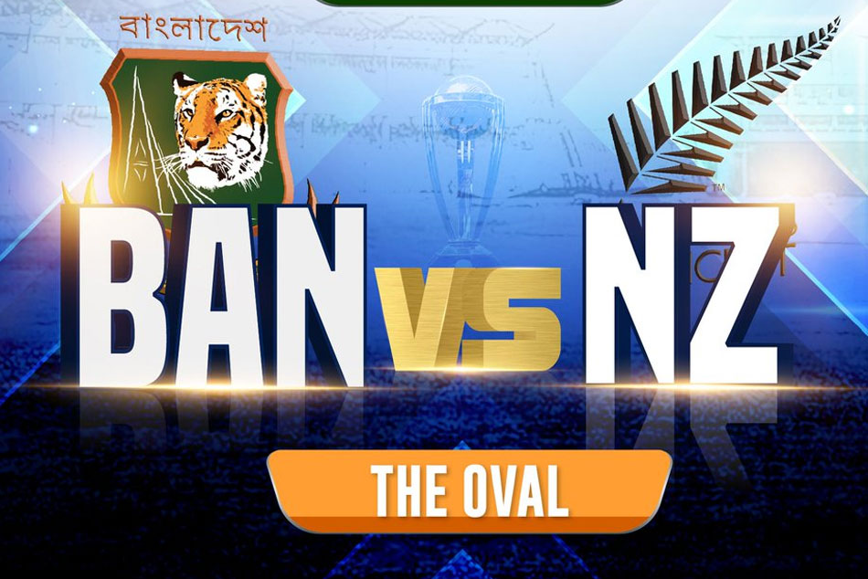 Cwc 2019 Bangladesh Vs New Zealand Live Score New Zealand Win The Toss And Opts To Bowl