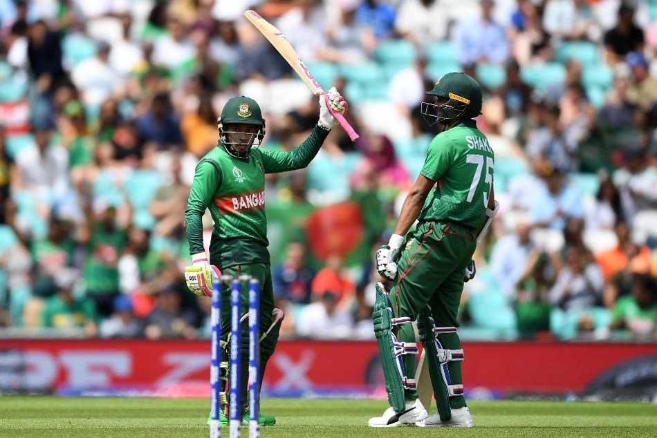 Icc Cricket World Cup 2019 Africa Vs Bangladesh Match Shakib Rahim Century Stand