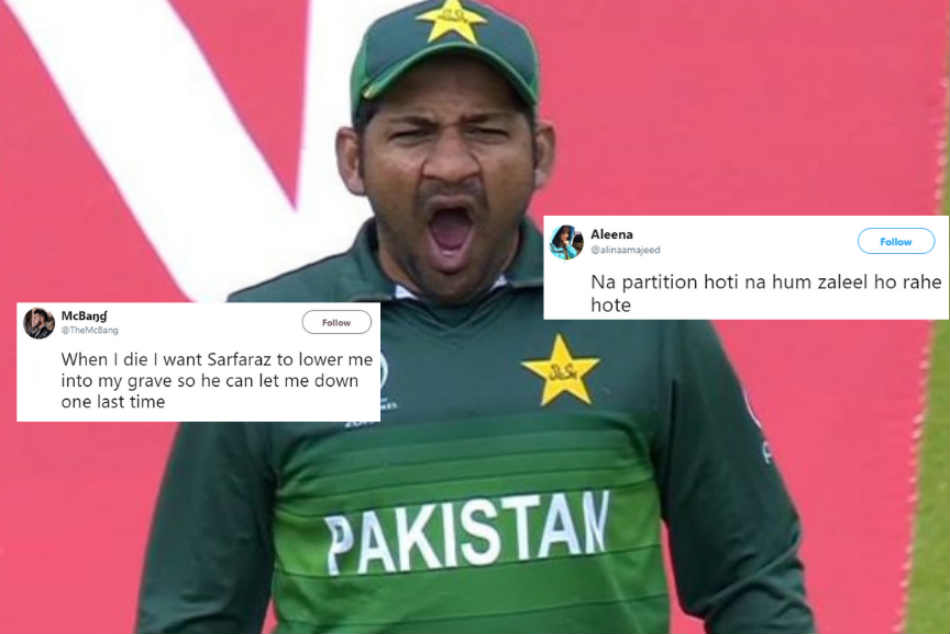 Pakistan Fans Trashing Their Own Team After India S World Cup