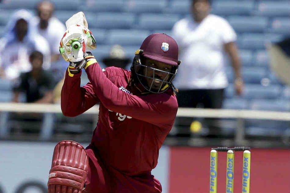 Cwc 2109 Chris Gayle Breaks Sri Lanka Cricket Sangakkara Record