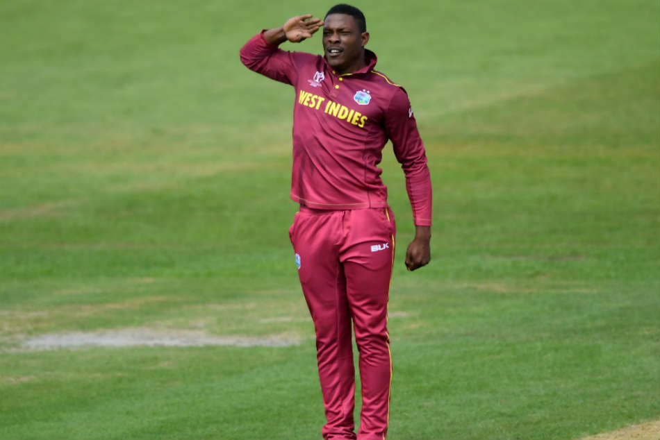 Australia vs West Indies: Sheldon Cottrell Does It Again With His Army Salute Wicket Celebration