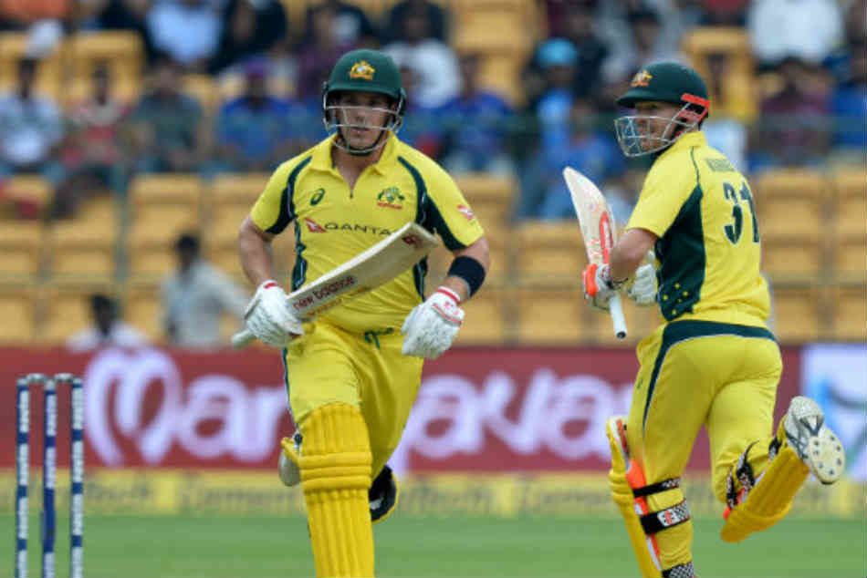 David Warner Aaron Finch Set New World Cup Record