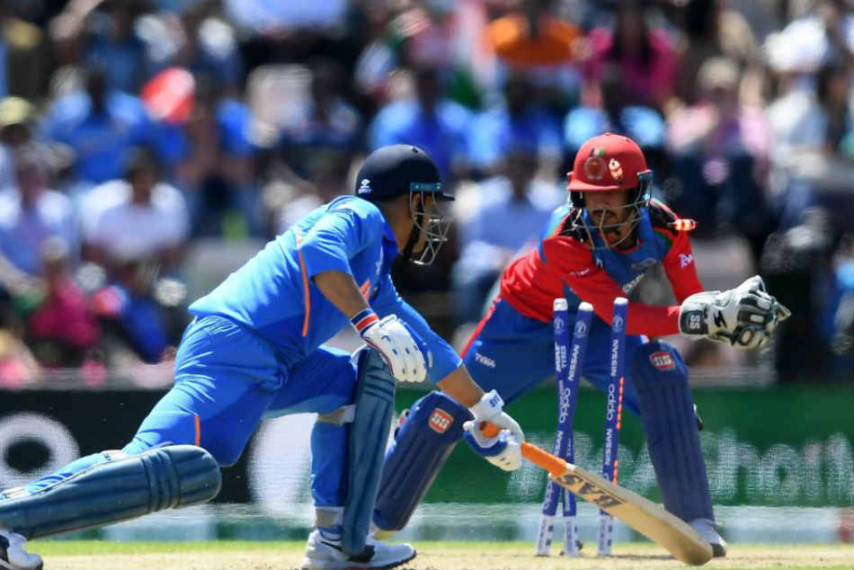 ICC Cricket World Cup 2019, India vs Afghanistan: MS Dhoni Stumped For First Time Since 2011 World Cup