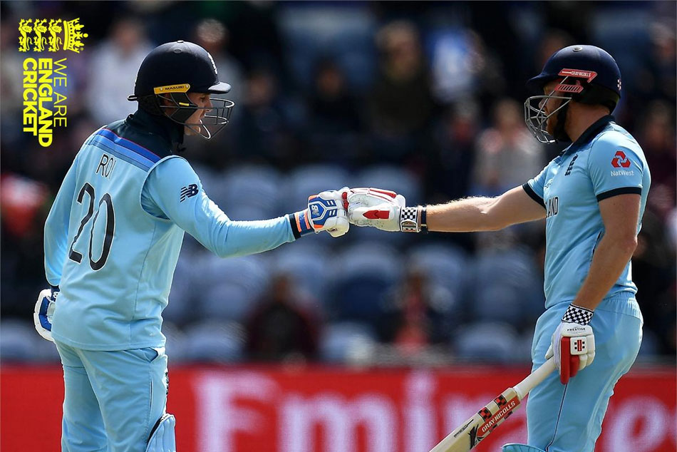 ICC World Cup 2019, England posted an imposing 386/6 in windy Cardiff