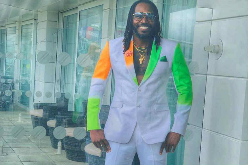 Gayle Sports India-Pak Suit Ahead of Sunday's Big-Ticket WC Clash