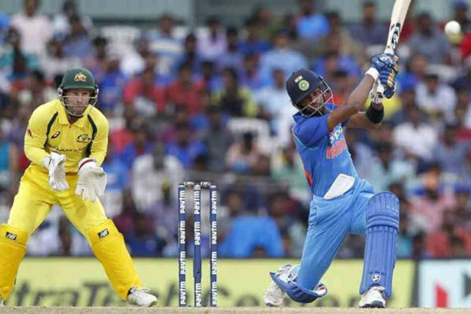 ICC Cricket World Cup 2019, India vs Australia: Two team batsmens hit 12 sixes in Match, Hardhik Pandya hit 3 sixes