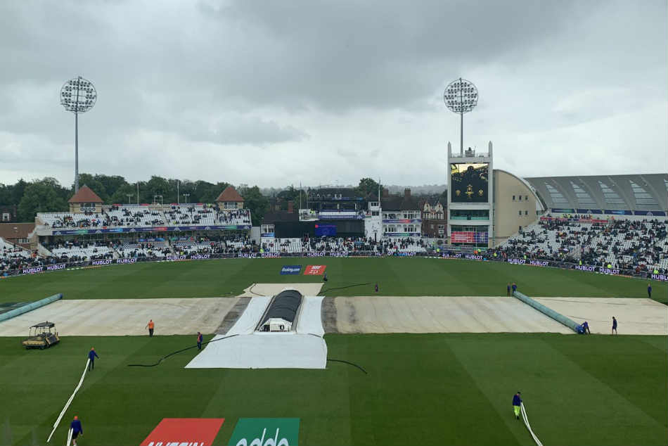 Icc World Cup 2019 India Vs New Zealand Live Score Absolutely Pouring Now