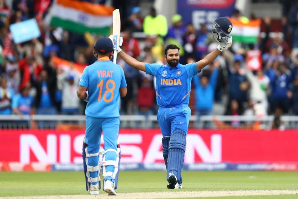 CWC 19, India vs Pakistan: Rohit Sharma ton, KL Rahul & Virat Kohli Half Century powers India to 336