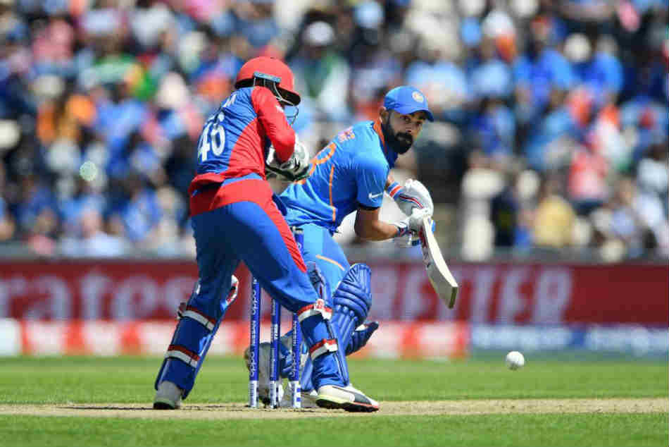 Cwc 2019 India Vs Afghanistan Live Score Afghanistan Restrcts India 224 8 Kohli Kedar Hit Fifties