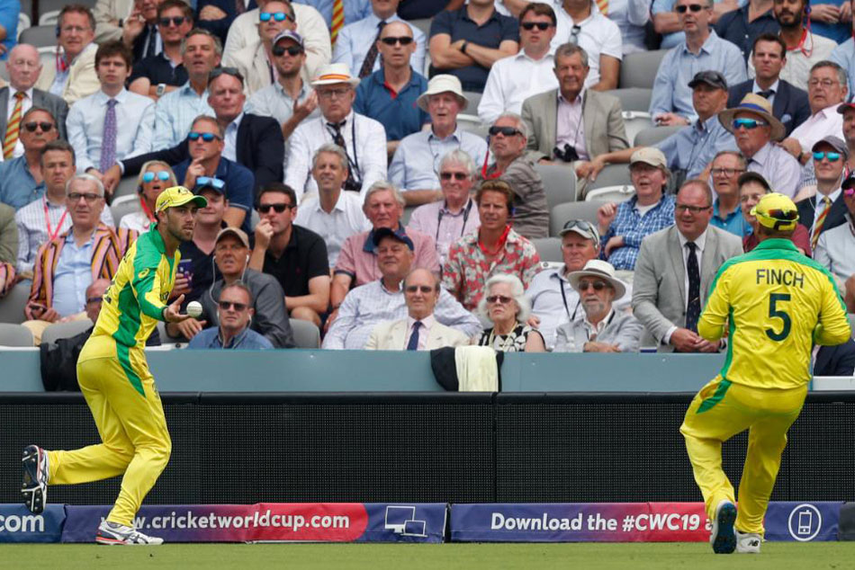 Cwc 19 England Vs Australia Glenn Maxwell And Aaron Finch Combine Smartly
