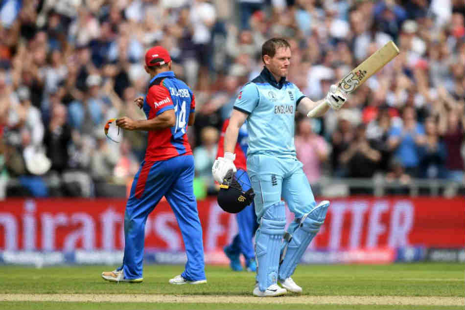 Most of number of sixes record broken by Eoin Morgan(17). Earlier it was Watson(16) and Rohit(16)