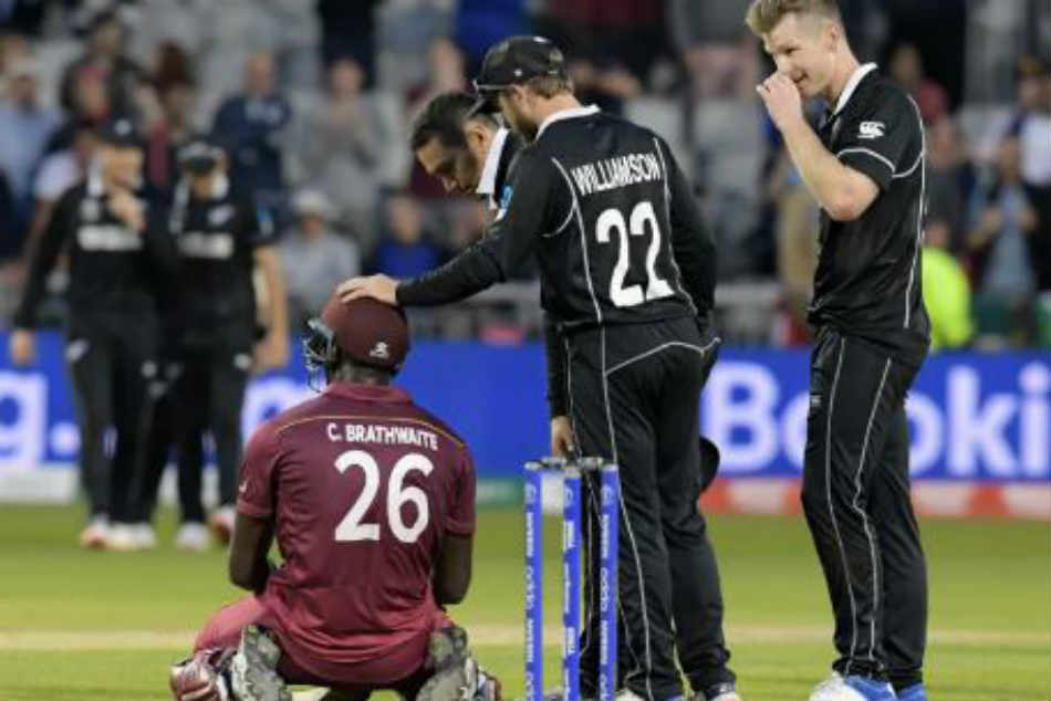 Kane Williamson Stars As New Zealand Survive Carlos Brathwaite Scare To Win West Indies Thriller