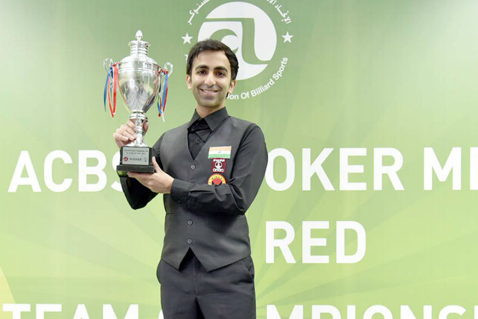 Asian Men S Snooker Championship Pankaj Advani Lifts Title