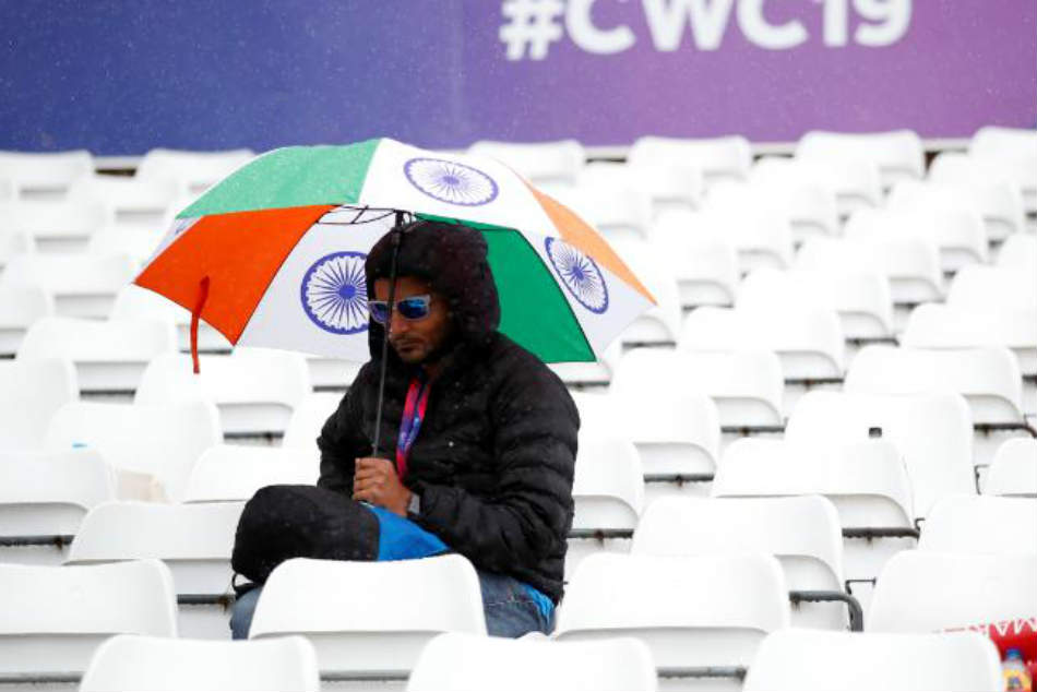 India vs New Zealand, ICC Cricket World Cup 2019 Match in Nottingham: Game Called Off Due to Rain