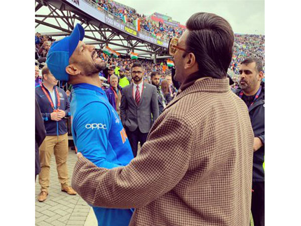 Ranveer Singh pays surprise visit to Manchester, gives lowdown on big clash