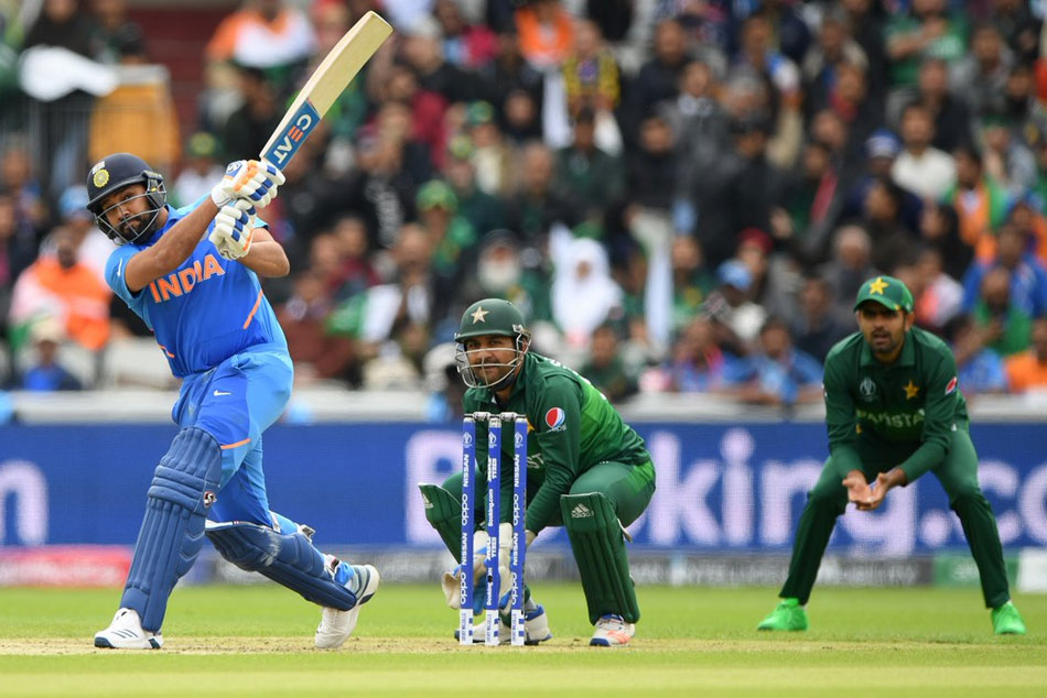 Cwc19 India Vs Pakistan Openar Rohit Sharma Ton Helps Ind Dominate Pakistan