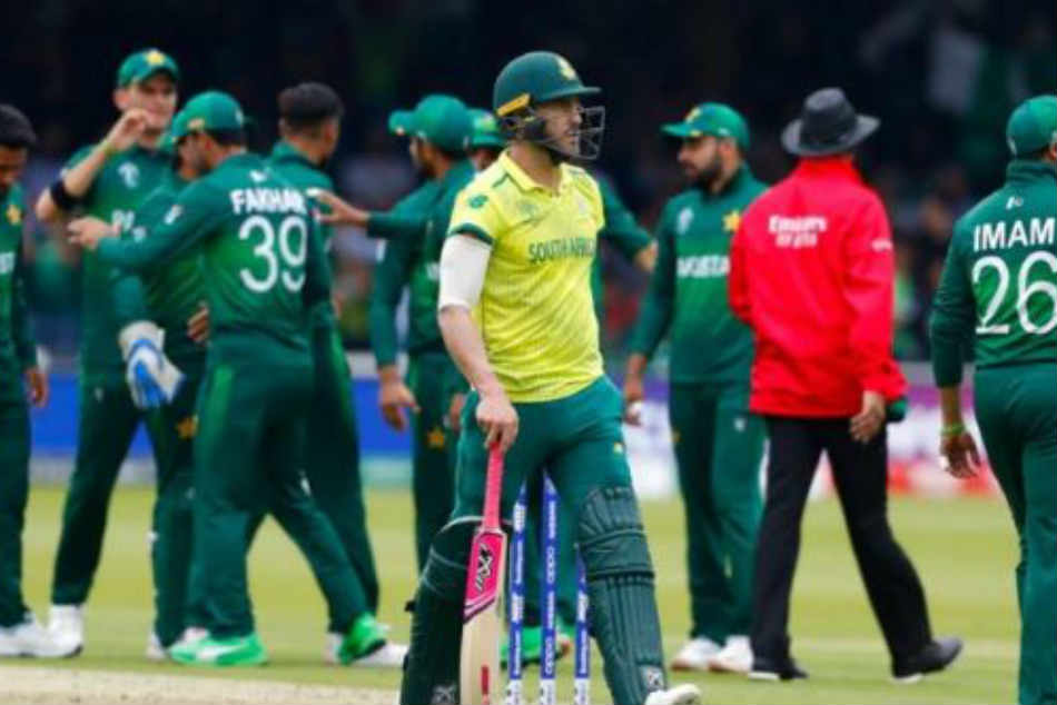 Pakistan vs South Africa: Pakistan eliminate South Africa from semi-finals race with 49-run win