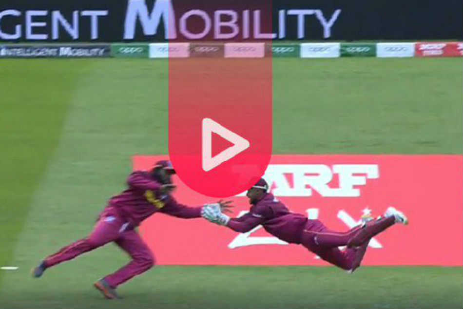 Cricket World Cup 2019 West Indies Vs Pakistan Shai Hope Takes A Stunner To Get Rid Babar Azam