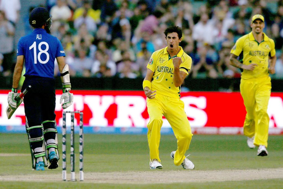 Mitchell Starc's wife reveals how an England fan's taunt fired him up