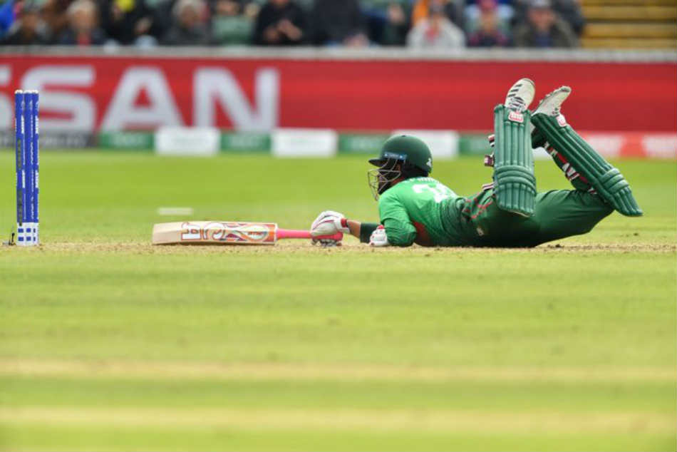 Icc Cricket World Cup 2019 Cottrell Dismisses Tamim With Fantastic Run Out