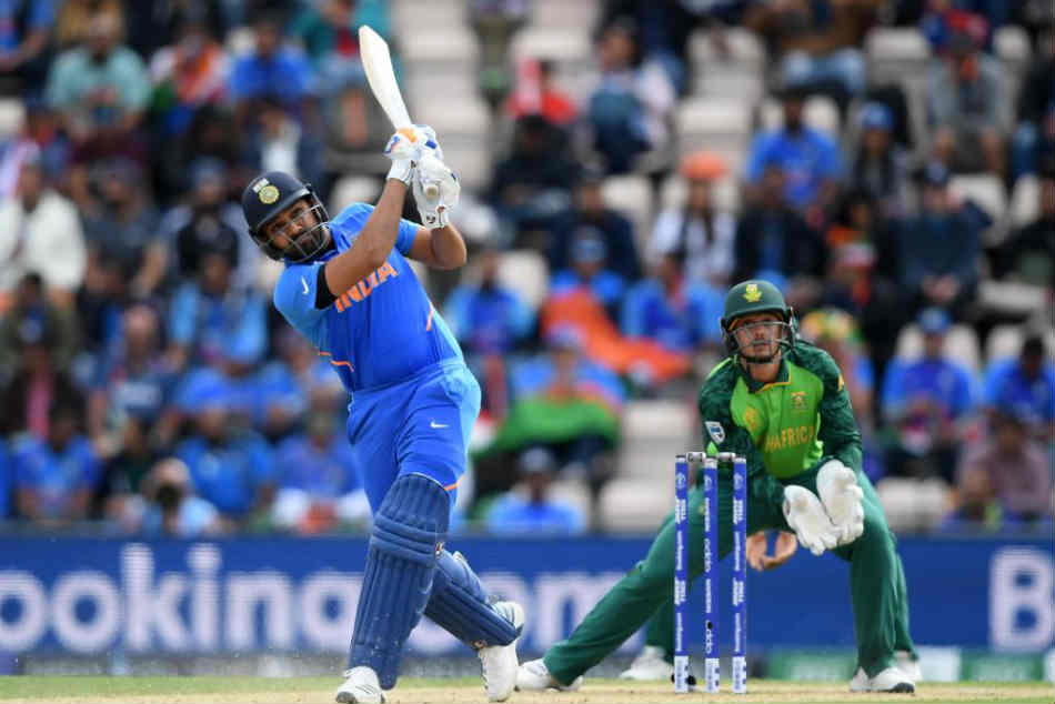 Cwc 2019 India Vs South Africa Live Score Rohit Hits Ton As India Open Campaign With Win