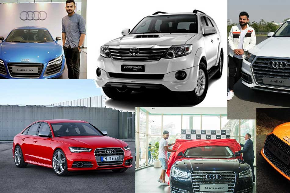 Icc Cricket World Cup 2019 Virat Kohli S Car Collection Take A Look At His Audi A