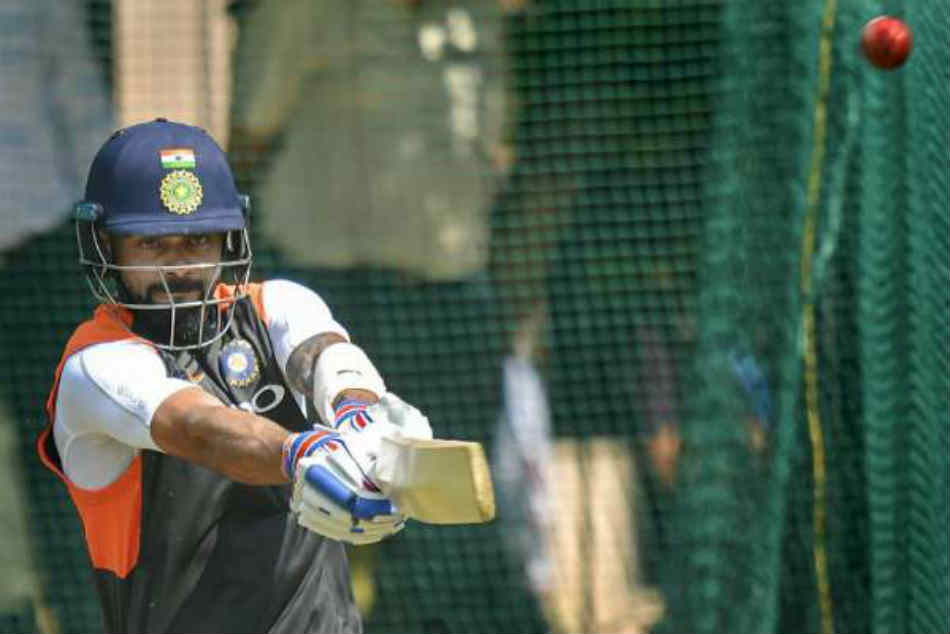ICC Cricket World Cup 2019, India vs Pakistan: Indian Captain Virat kohli bating practice in Manchester nets
