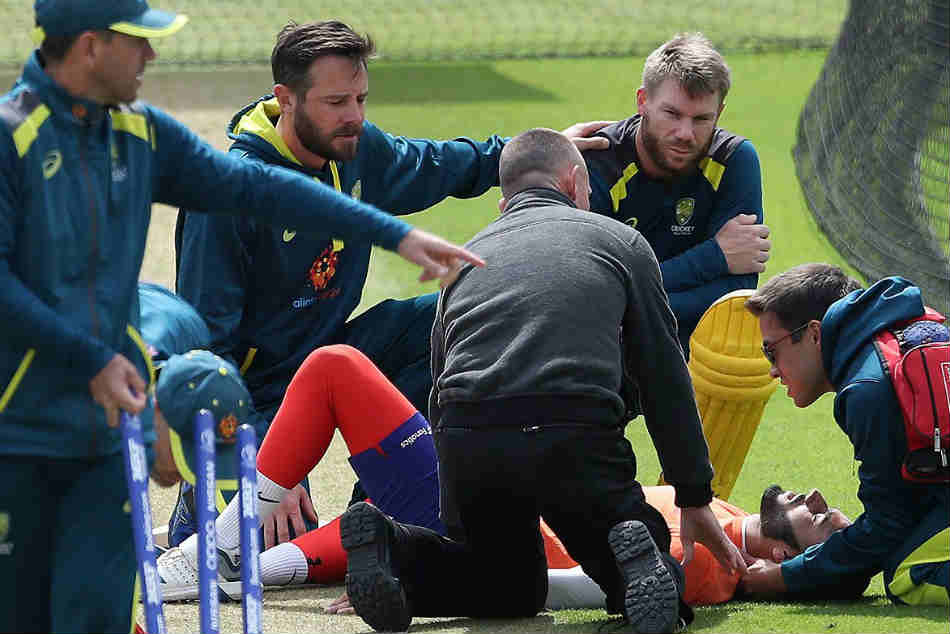 ICC Cricket World Cup 2019, India vs Australia: David Warner shaken up after net bowler hospitalised