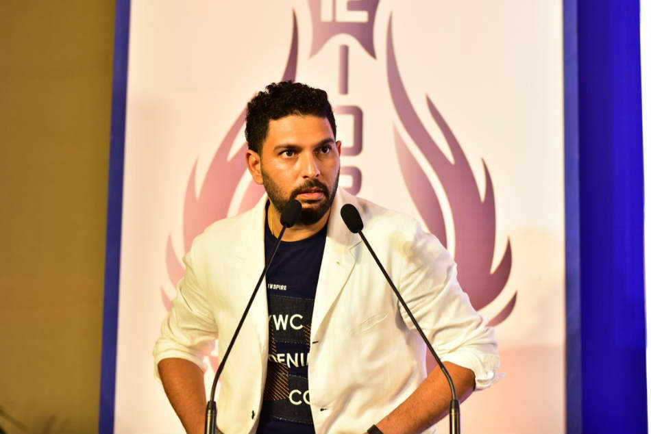 Emotional Yuvraj Thanks Team Mates In Farewell Speech