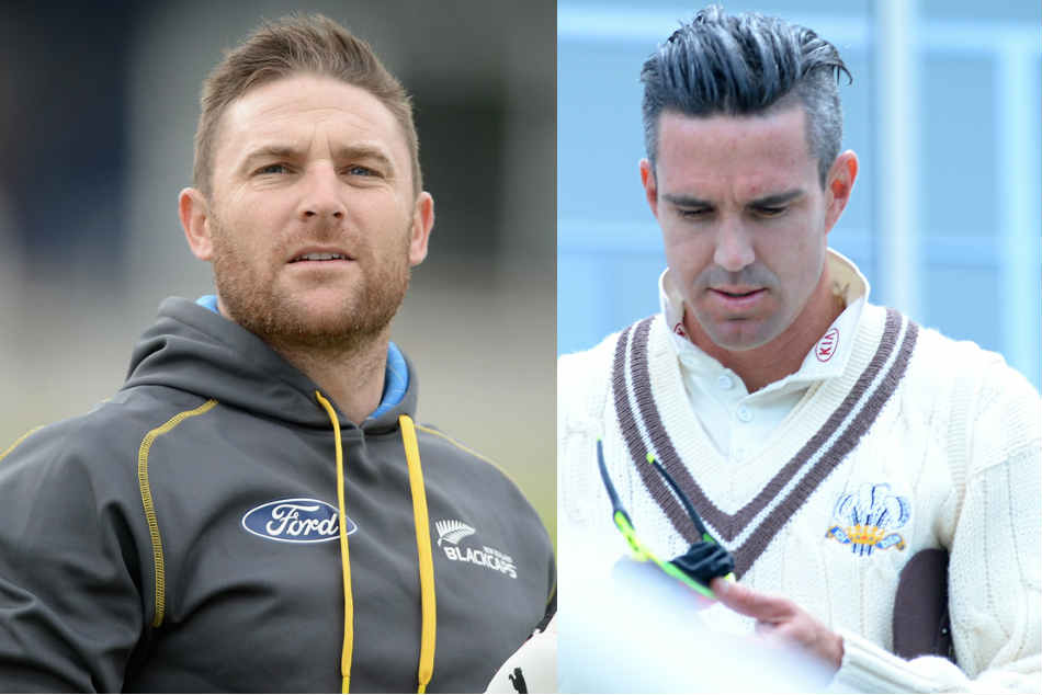 Brendon McCullum, Kevin Pietersen Engage In Banter Over New Zealands Projected Total Against India