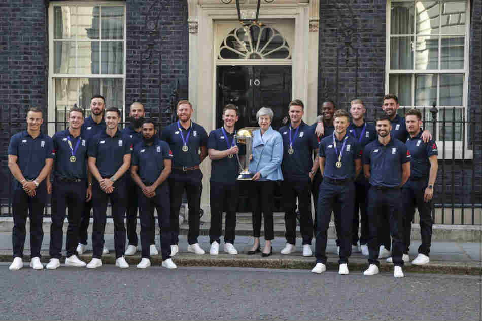 Icc Cricket World Cup 2019 England Players Meet Prime Minister Theressa May At