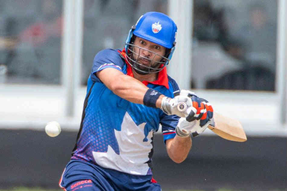 GT20 Canada: Yuvraj Singh shines with bat again for Toronto Nationals to help big score, Hawks won by 3 wickets