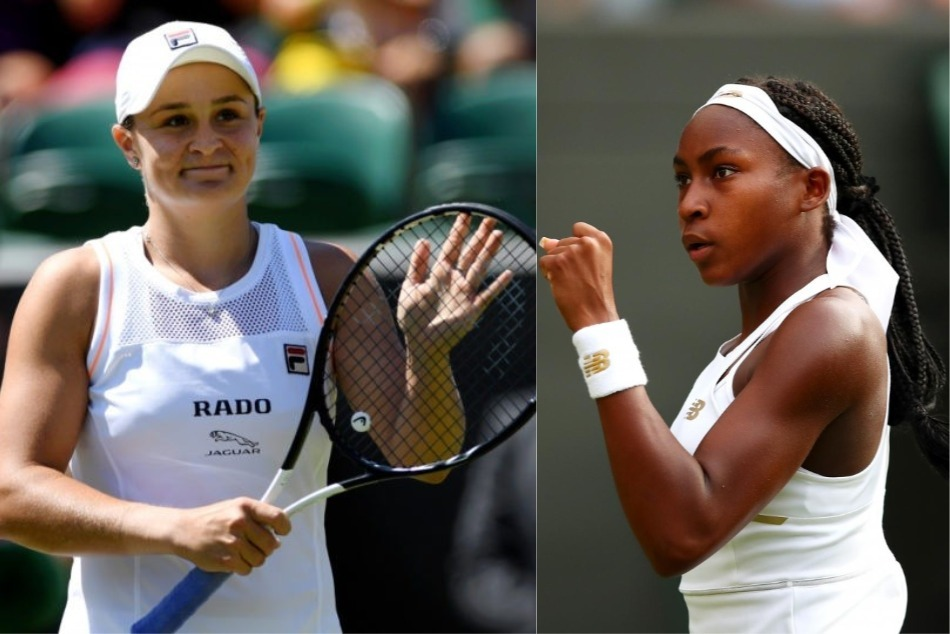 Wimbledon 2019 15 Year Old Cori Gauff No 1 Ranked Ash Barty Out In 4th Round