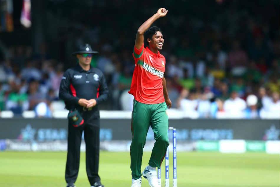 Cwc 2019 Mustafizur Rahman Becomes The Fastest Bangladesh Bowler To Pick 100 Odi Wickets