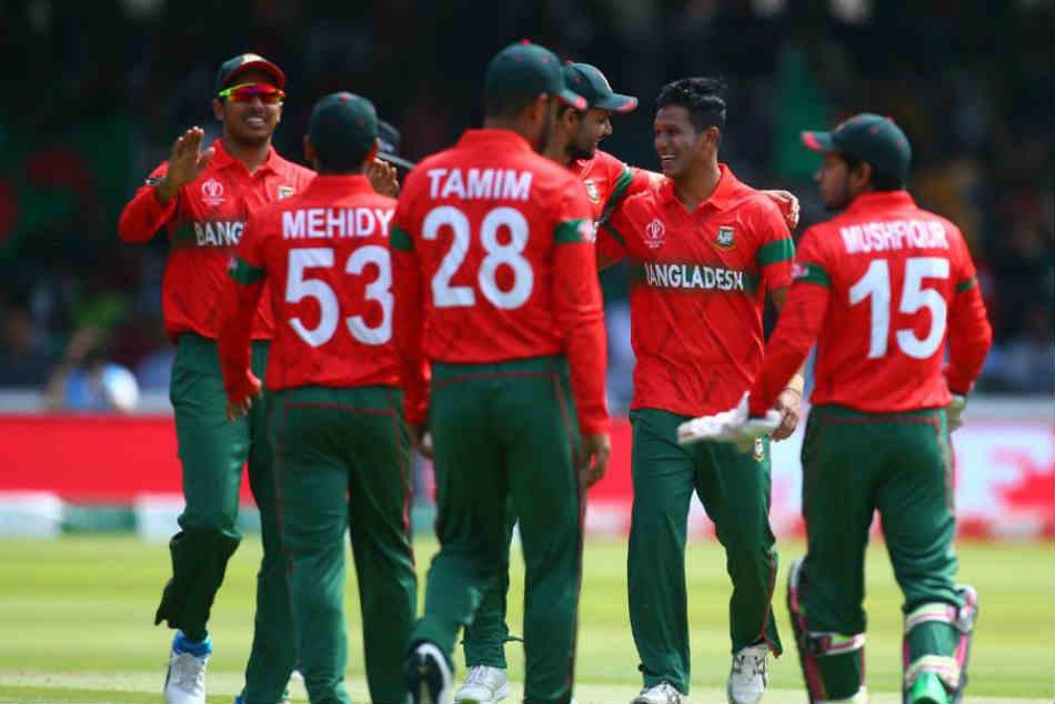 Bangladesh Don Red Away Jersey During Pak Vs Ban
