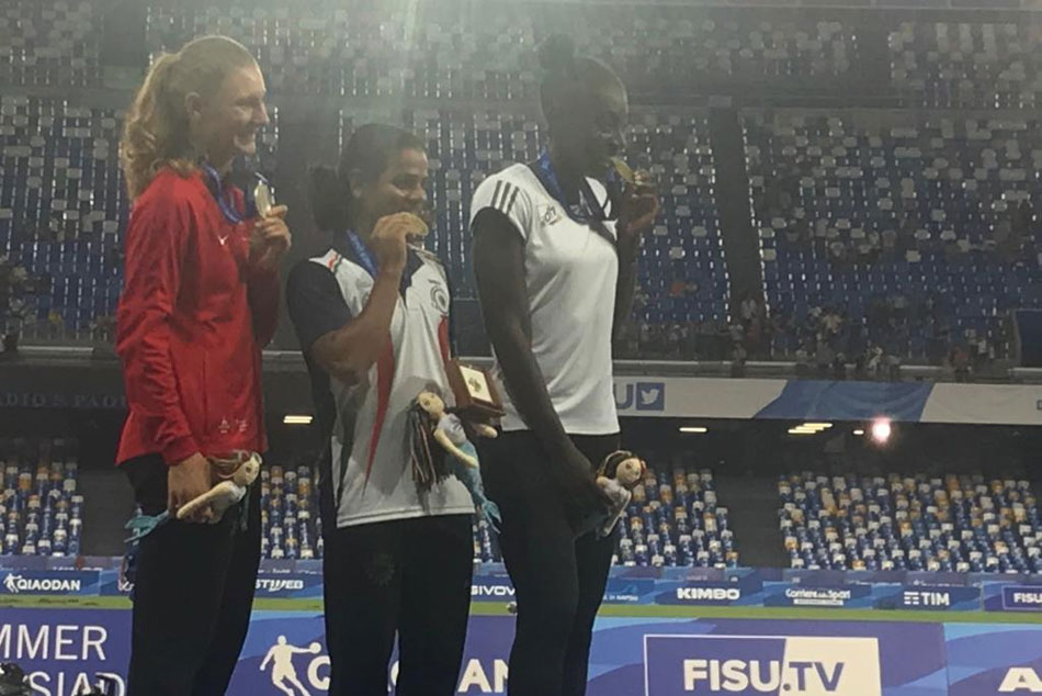 Olympics Star Dutee Chand Wins 100m Gold In World Universiade Creates History