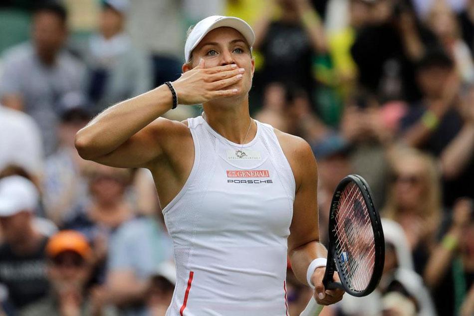Wimbledon 2019 Angelique Kerber Out Ashleigh Barty Petra Kvitova Through