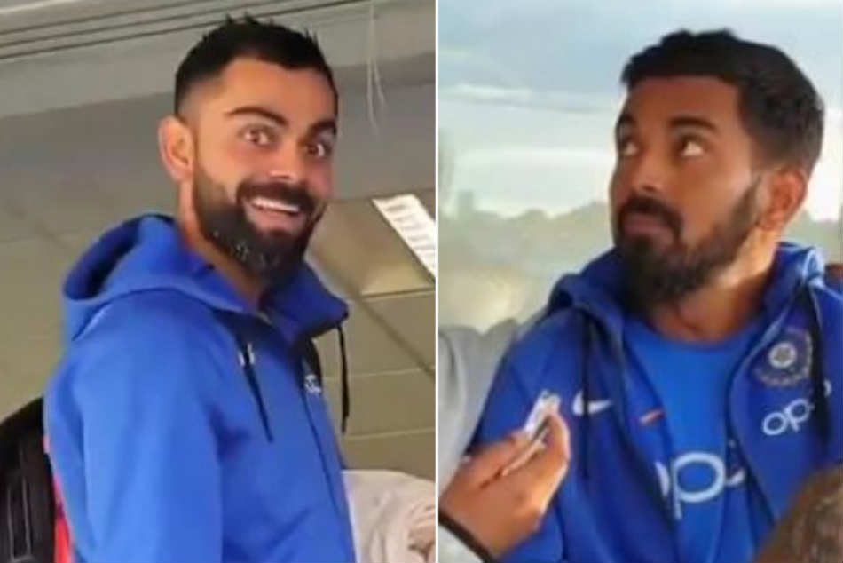 ICC Cricket World Cup 2019: Virat Kohli crashes KL Rahuls interview on Chahal TV