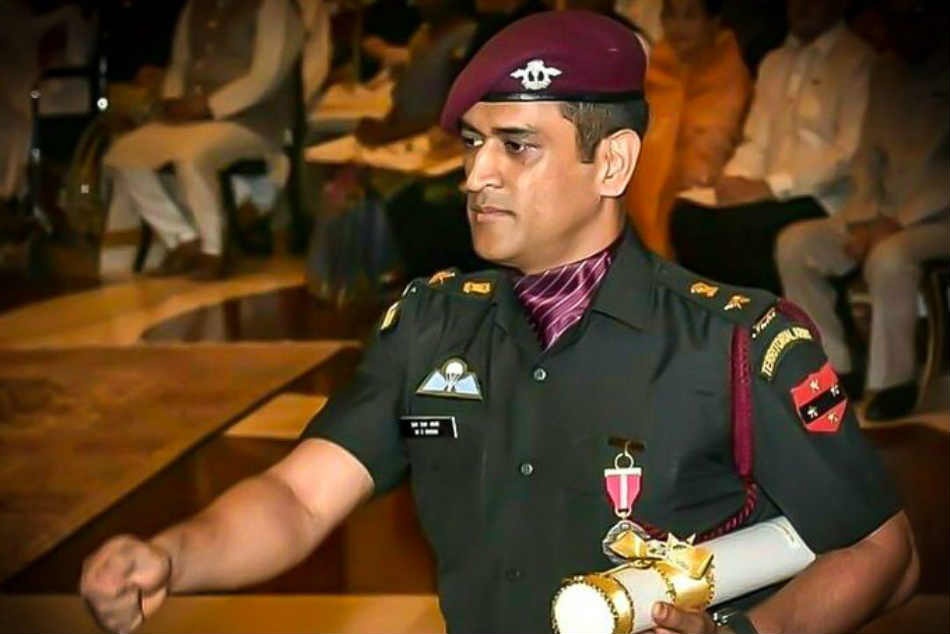 Twitter hails Lt Colonel MS Dhoni after he takes break from cricket to serve his Territorial Army regiment