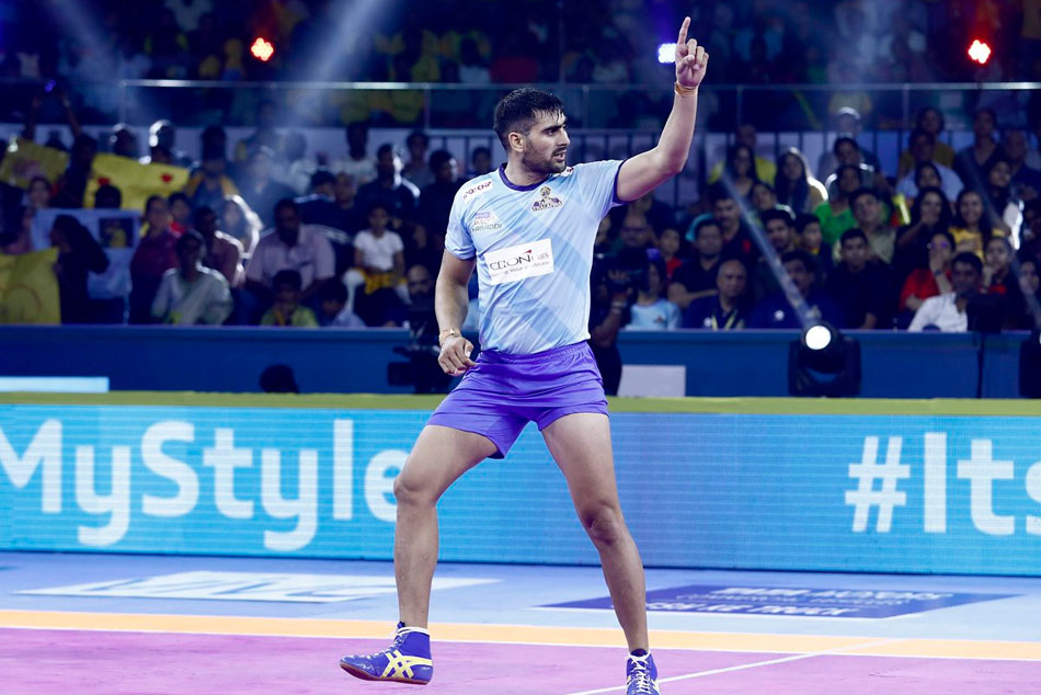 Pro Kabaddi League season 7: Tamil Thalaivas defeat Telugu Titans, Gujarat Fortunegiants crush Bengaluru Bulls
