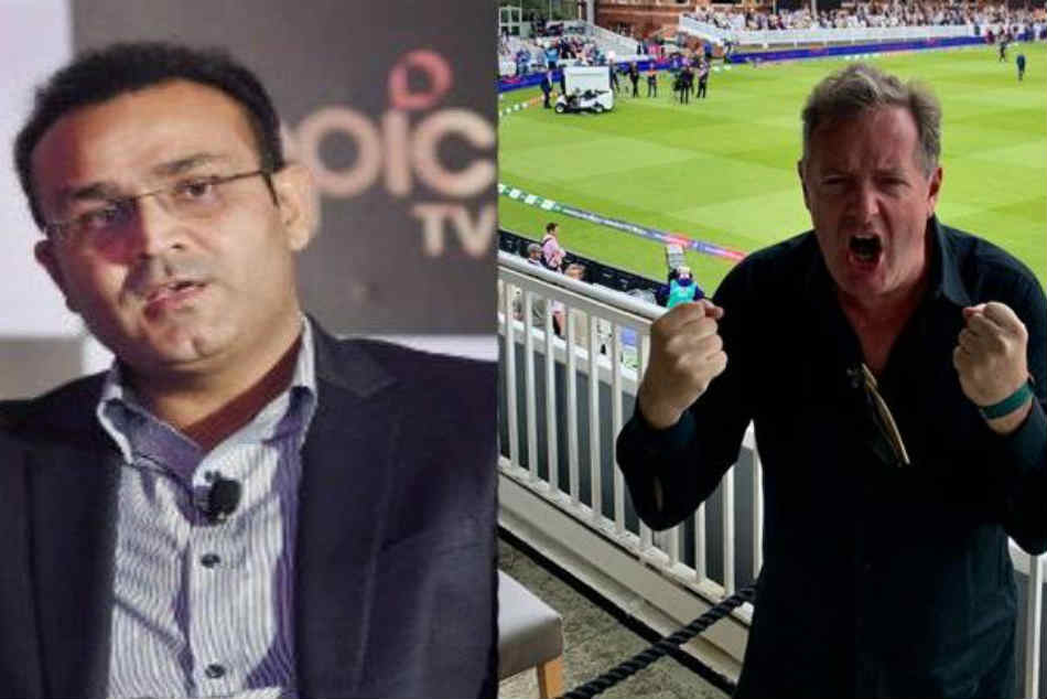 After Englands World Cup triumph, Piers Morgan digs out Virender Sehwags old tweet to reopen Twitter rivalry