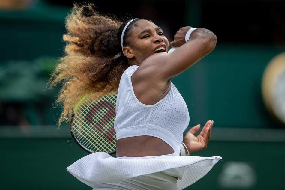 Wimbledon 2019 Serena Williams Beats Alison Riske To Reach Semi Finals