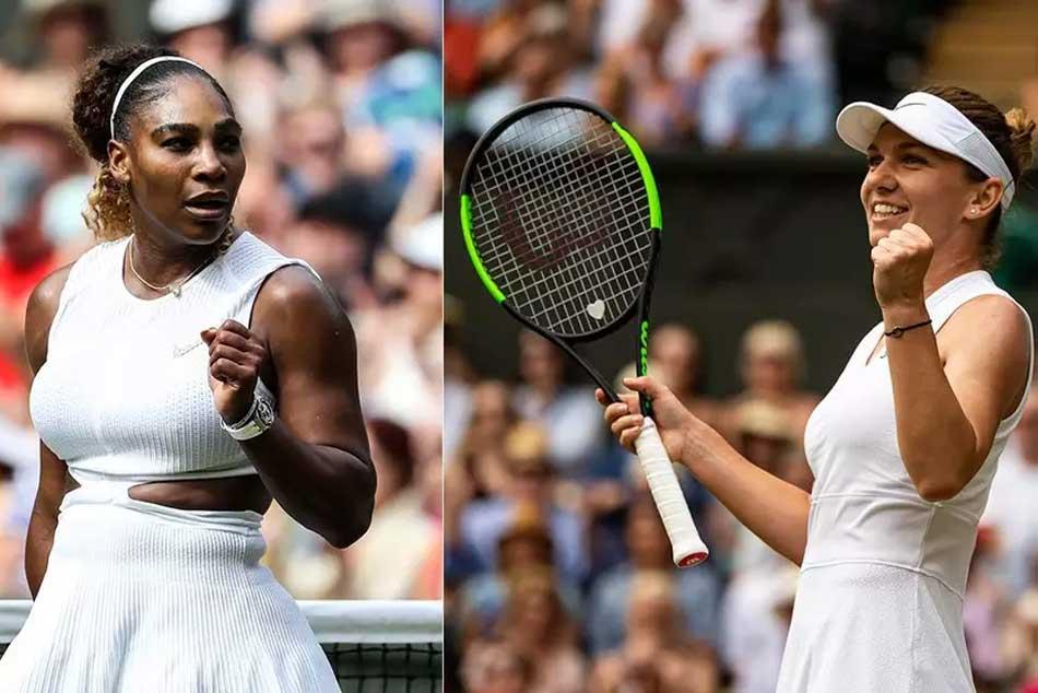 Wimbledon 2019 Serena Williams Powers Past Barbora Strycova Into Final Simona Halep Surge Into Final