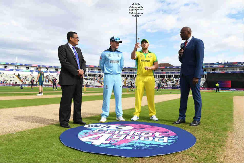 Icc Cricket World Cup 2019 Australia Vs England Semi Final Australia Have Won The Toss