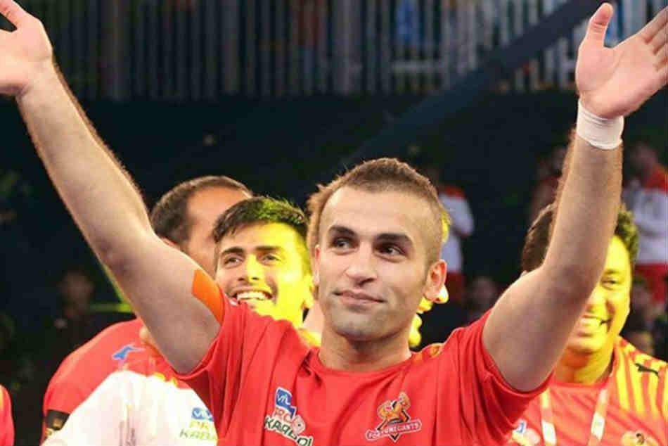 Pro Kabaddi 2019 U Mumba Pick Iran S Fazel Atrachali As Captain Puneri Paltan